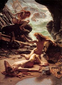 220px-Sir_Edward_John_Poynter_—_Cave_of_the_Storm_Nymphs